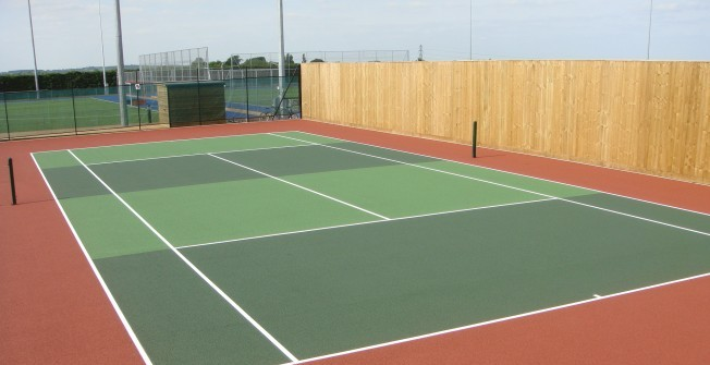 Tennis Court Surface Contractors in South Yorkshire