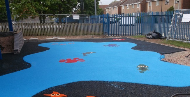 Rubber Play Area Installers in Bowbeck