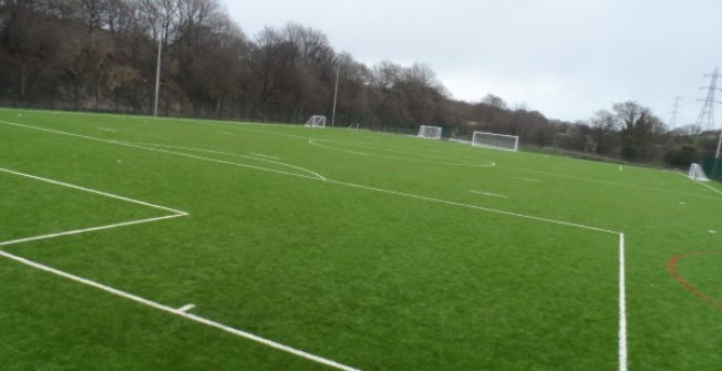 Artificial Football Pitch Specifications in Bay