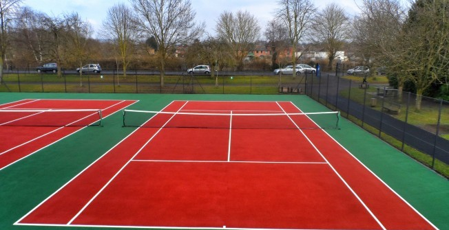 Tennis Facility Surfacing in South Yorkshire