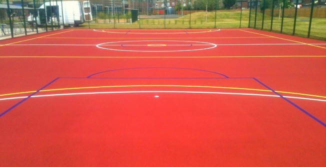 Polymeric MUGA Courts in South Yorkshire
