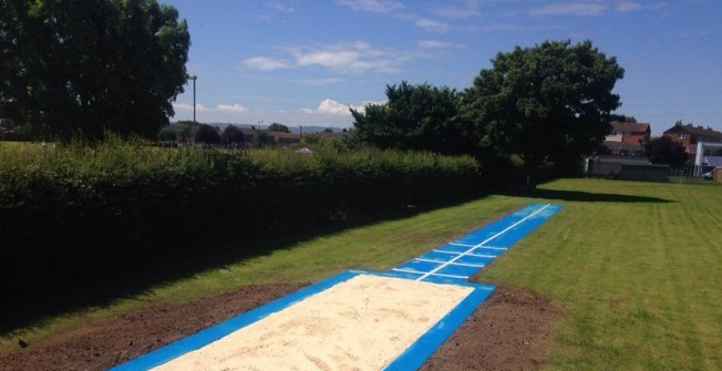 Jump Track and Sand Pit in Witton Gilbert
