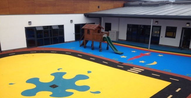Wetpour Playground Surfaces in Bowbeck