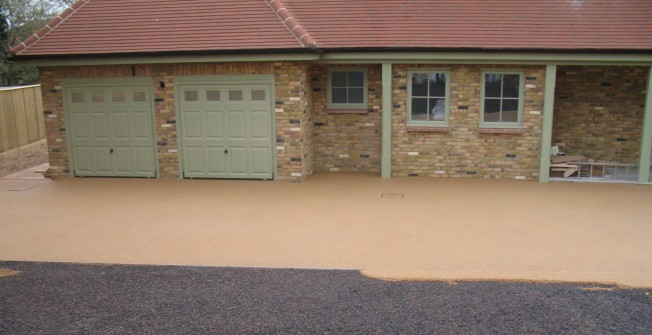 Resin Bound Stone Paving in Broad Green